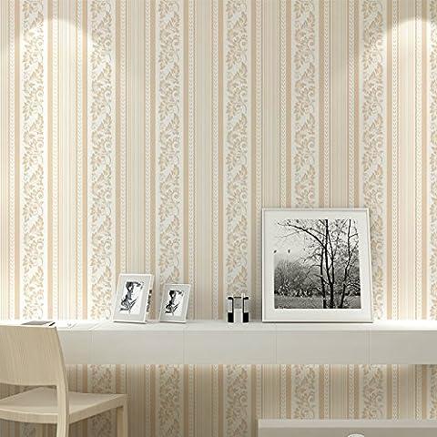 Carta da parati Verticale non tessuto strisce soggiorno sala da pranzo camera da letto sfondi sfondi in rilievo 3D sfondo , pink stripe 52065