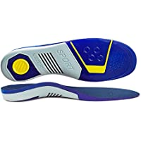 Orthotic Insoles Arch Support for Plantar Fasciitis, Bunions Ball of Foot,overpronation,Lower Back Pain Relief,3/8UK