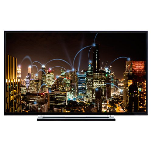 Toshiba TV Led 55' 55L3763DG FULL HD,SMART, Wifi integrado, BLUETOOTH, NETFLIX, DVB-T2/C/S2, 3 HDMI, 2 USB Grabador