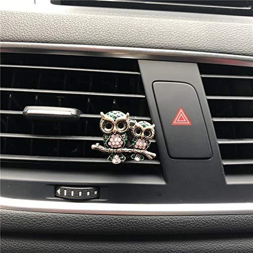 FASHLADY Nuovo Gioiello dell'Acqua di Modo Gufo di Profumo Auto Interni Oggetti Deodorante Air s Profumo Profumi Car-Styling: F