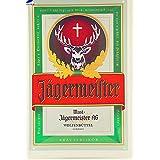 Wand Decoratie Vintage de estaño metálico signos Jagermeister pegatinas de pared decoración retro de hierro estaño placas Metalpainting neón signo cerveza Ajax