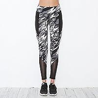 Preisvergleich für Xuanytp Yogahosen Hosen Damen Leggings Stitching Mid-Term Wartet Auf Sport Elastische Fitness Damen Workout Slim Pants Casual