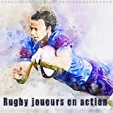 Rugby joueurs en action 2020: Serie de 12 tableaux, creations originales de rugbymen en action