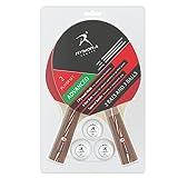 2jugador juego de tenis de mesa (2raquetas y 3bolas) (ideal para escuelas, hogares, Clubes deportivos y personal habitaciones), Advanced Play