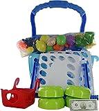 Comdaq Shopping Cart with Light and Musi...