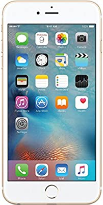 (Certified Refurbished) Apple iPhone 6S Plus (Gold, 16GB)