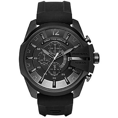 Diesel DZ4378 - Reloj de pulsera analógico para hombre (cuarzo, silicona)