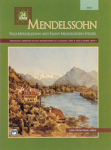 Mendelssohn: 24 Songs, Medium