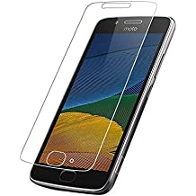 AA(TM) Moto G5 Plus (2017 5th Gen) Tempered Glass Screen Guard Protector (5.2 ONLY)