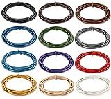 AURORIS - 5m Lederband rund Ø 2 mm - Farbe
