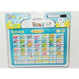 Magnifico™ Musical Board For Alphabet ABC Learning Toy Play Mat And Drawing Board With One Doodle Pen Multi Color