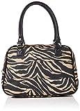 New Look Damen Tiger Cabin Henkeltasche, Braun (Brown Pattern), 16.5x25x35.6 Centimeters