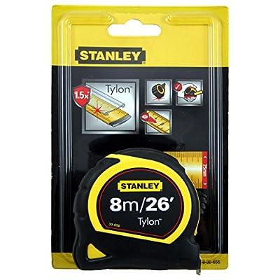 Stanley Pocket Tape 8M/26FT 25MM Carded 0-30-656