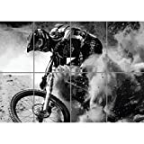 MOUNTAIN BIKE DOWNHILL MTB GIANT ART POSTER PLAKAT DRUCK PRINT PICTURE EN528
