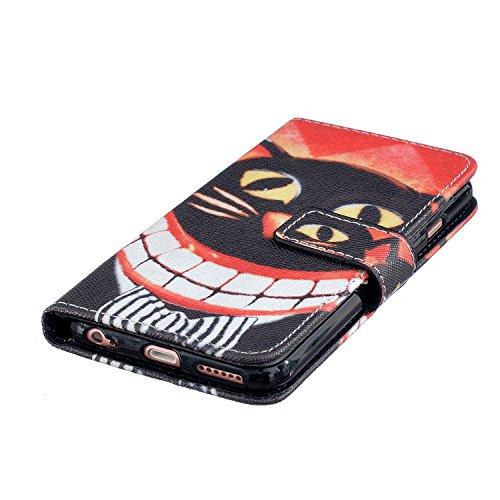 PU Silikon Schutzhülle Handyhülle Painted pc case cover hülle Handy-Fall-Haut Shell Abdeckungen für Smartphone Apple iPhone 6 6S (4.7 Zoll)+Staubstecker (P10) 3
