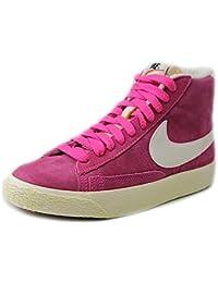 Nike Wmns Blazer Mid Suede VNTG 518171-005 - Zapatillas Deportivas de Cuero para Mujer