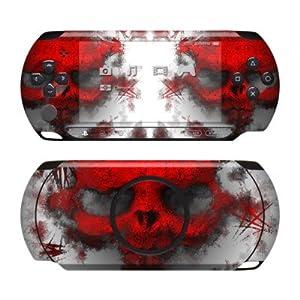 Sony PSP Street Skin für E1000 / E1004 Design Schutzfolie + Wallpaper – War Light
