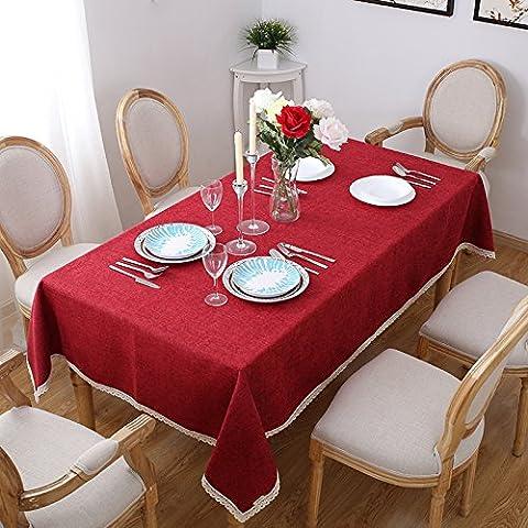Tabgw Nappe Rectangulaire Salle à manger Jardin Hôtel Café Restaurant