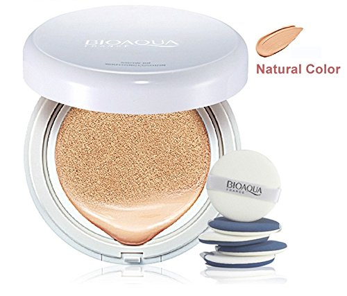 BioAqua Air Cushion BB Creme Concealer Foundation Flüssig Make Up Kissen Natur