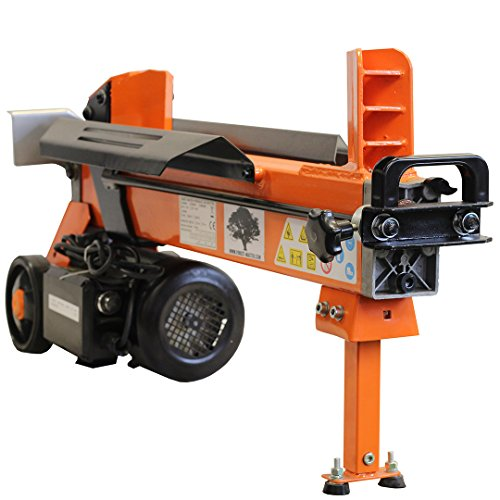 5 TON ELECTRIC LOG SPLITTER WOOD AXE HYDRAULIC CUTTER WITH DUO BLADE