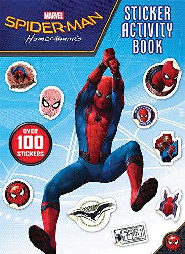 Spider-Man Homecoming Sticker Activity Book