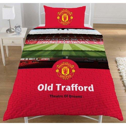 Manchester United FC. 'Stadium' Single Duvet Set