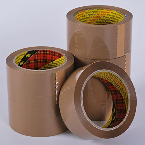 12-rolls-buff-3m-scotch-parcel-packing-tape-48mm-x-66m