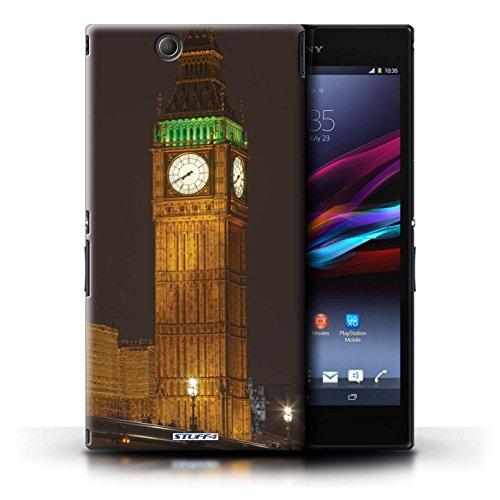 Kobalt® Imprimé Etui / Coque pour Sony Xperia Z Ultra / London Eye conception / Série Londres Angleterre Big Ben