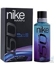 Cologne Nike 150avec vaporisateur 150ml Blue Wave Of 2x 1