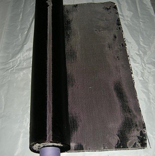 Carbon-faser-tuch (ZJ SPORT Carbon Faser Gewebe 3K 200g Plain Weave 99CM × 110CM Carbon Garn Weave Tuch)