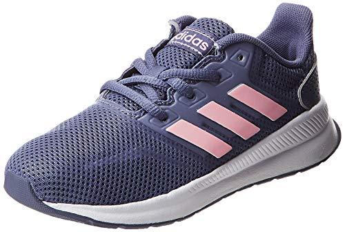 Adidas RUNFALCON K, Zapatillas de Trail Running Unisex niño, Multicolor (Indnat/Rosaut/Negbás 000),...