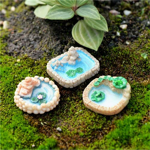 Table Table - Diy Fairy Garden Miniatures Ornaments 1pcs Miniature Pool Resin Micro Landscaping Decoration Sand - Square Skirt Coffee Holder Card Cloth Runner Tablecloth Tennis Table Stand -