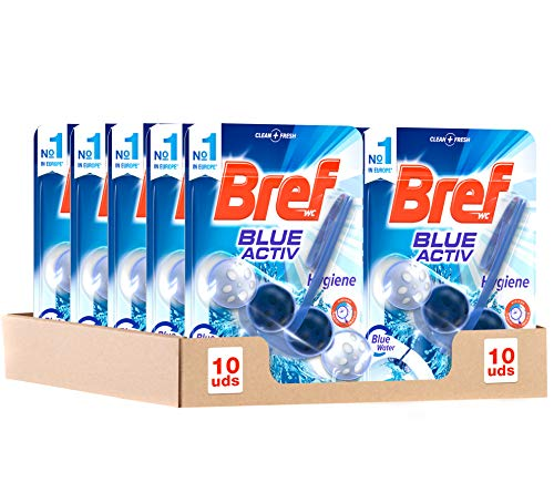 Bref Blue Activ Cesta WC - Pack de 10