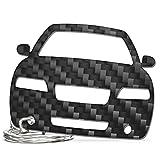 ACF Volvo Schlüssel-Anhänger | Echtes Carbon | Geschenk-Idee | Tuning | Volvo S60 (~2008)