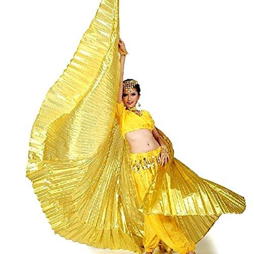 Calcifer Isis-Flügel für orientalischen Tanz, ägyptisches Tanzkostüm-Zubehör, (Ägyptischen Kostüme Der)