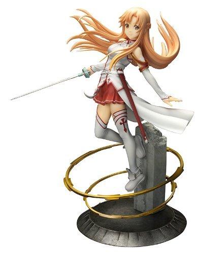 Otaku-Base® - Sword Art Online - Asuna 1/7 PVC Figur, 21 cm Collectors Edition - SOA Anime Merchandise Fanartikel ()