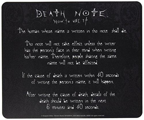 Hobbyz ABYACC087 - Set de material escolar (ABYACC087) - Alfombrilla Death Note...