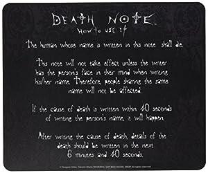 ABYstyle - Death Note - Alfombrilla de raton - notas instruccionales