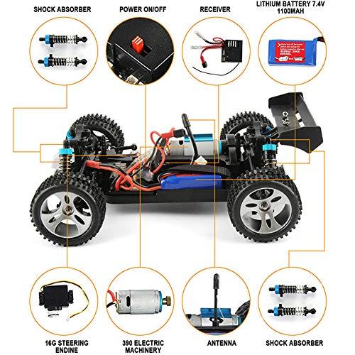 Fernsteuerungsauto-nicht für den Straßenverkehr Kind, 50Km / H Hochgeschwindigkeits1 / 18 4Wd Rc Auto A959 2.4G Fernsteuerungs-LKW Rc Buggy nicht für den Straßenverkehr Spielzeug für Jungen-Gesch