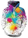 Die besten Freund Hoodies für Jungs und Mädchen - Goodstoworld 3D Paint Sweatshirt Hoodie Herren Damen Lustige Bewertungen