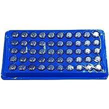 SODIAL(TM) 50 X AG13/LR44/A76 Pila de Boton Alcalina