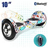 "Phaewo 6.5"" Hoverboard Self Balance Scooter UL 2272 Certified - Elektro Scooter with LED und Carry Bag - Starker Dual Motor - E-Balance E-Skateboard Self-Balance Board"