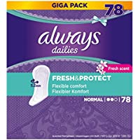 Always Fresh et Protect Protège-slip Normal Fresh  (2 x 78 pièces)