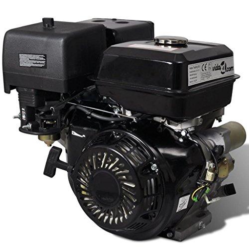 vidaXL Motore a Benzina Nero 9,6 kW 15 HP per Pompe Acqua Spaccalegna Tosaerb