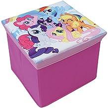 Fun House 712527My Little Pony taburete de cartón para almacenaje para niños mural/30x 30x 30cm