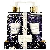 Set de jabón de manos y loción de manos y cuerpo Royale Bouquet de Baylis & Harding.