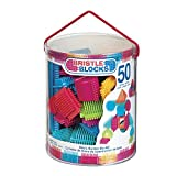 Bristle Blocks 50 piece Basic builder bucket