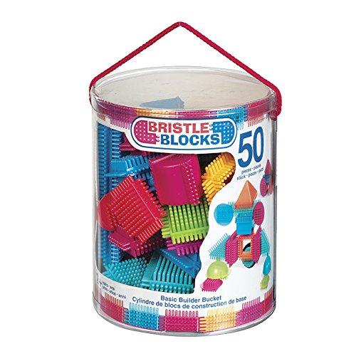 B. Toys 44258 - Bristle Blocks, 50 Teile im Eimer - Kinder-blöcke