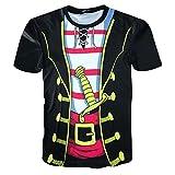 Manga Corta de Hombre BaZhaHei Camiseta de Fiesta Moda Transpirable Cómodo Unisex Rude Stag Party Disfraz 3D Ofensive Boobs Printed tee Tops Impresos en 3D para Hombres Caual Manga Corta de Hombre
