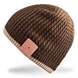 Rotibox Washable Bluetooth Music Beanie Hat Cap with Wireless Stereo Over Ear Headphone